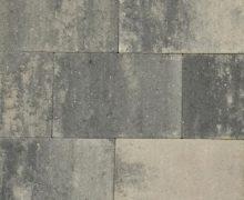 Puras 20x30x6cm grezzo grijs zwart