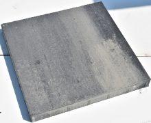 soft finish grijs zwart 60x60x6cm