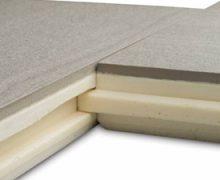 Keramische tegel met pir ondervloer