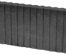 mini rondo 6x25x50 zwart