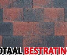 strakstone 20x30x6 rood zwart