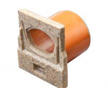 Anrin® eindstuk voor vloergoot, type SELF-100, met uitloop ***