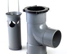 Nicoll® Connecto compacte zandvanger 110 mm, 360° draaibaar, inbouwhoogte 30 cm *** Local Caption *** foto emil