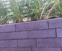 rock walling naturel antraciet
