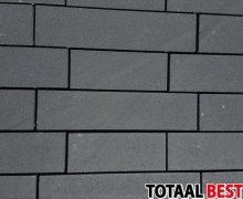 rock walling strak zwart