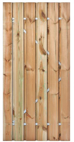 Grenen Geïmpregneerde tuindeuren vindt u bij Totaal Bestrating.