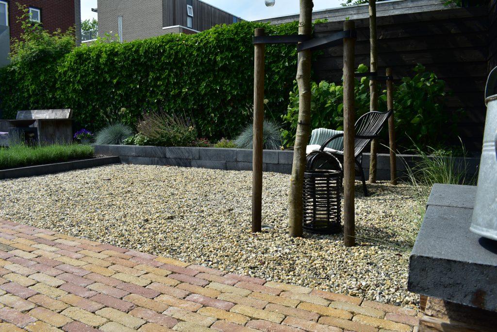 Grind & split aanleggen in de tuin