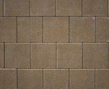 20x20x8cm gele betontegels met natuursteen toplaag