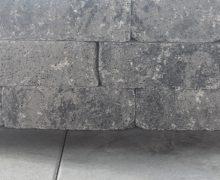 catrock getrommeld grijs/zwart