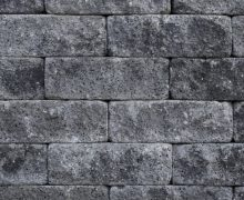 Splitrocks getrommeld grijs/antraciet