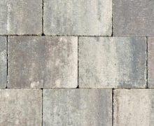 Abbeystones 20x30x6cm grigio zijn Getrommelde betonstenen in een prachtig genuanceerde kleur voor terras, pad en oprit; authentiek; zomers; getrommeld