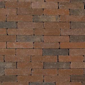 Authentieke beton waaltjes in een donker bruine kleur