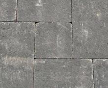 Geef uw tuin een robuuste look met dit Abbeystones wildverband in de kleur zwart