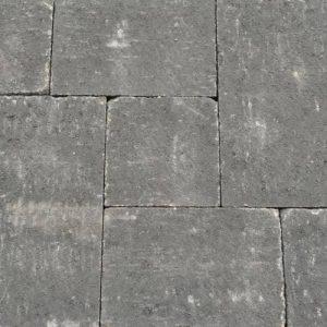 Abbeystones wildverband antraciet Geef uw tuin een robuuste look met dit Abbeystones wildverband in de kleur zwart