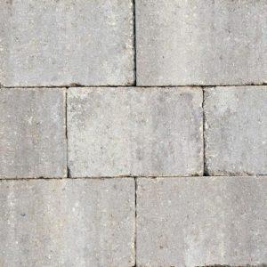 Abbeystones 20x30x6cm Ivory Getrommelde betonstenen in een prachtig genuanceerde kleur voor terras, pad en oprit; authentiek; zomers; getrommeld