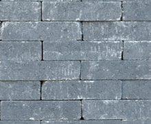 Authentieke betonwaaltjes in het antraciet