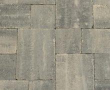 Geef uw tuin een robuuste look met dit Abbeystones wildverband in de kleur grijs zwart