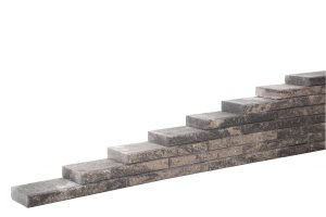 de line block matterhorn is perfect voor het maken van muurtjes!