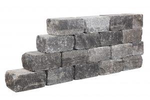 De combiwall splitton is een robuust en stoer muur element