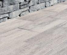 Mediterrane kleur betontegels