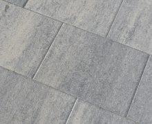 60Plus Soft Comfort 30x40x6cm Grezzo betonstenen voor terras en oprit grijs