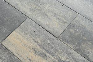 60Plus Soft Comfort 40x80x4cm Giallo genuanceerde betontegels langwerpig