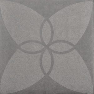 Optimum Decora 60x60x4cm Silver Iris