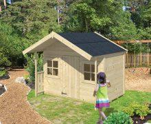Speelhuisjes van hout voor kinderen