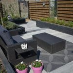 Optimum Decora Rose Graphite, design betontegels, vt wonen