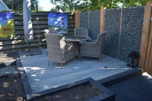 soft comfort 60x60x4cm grezzo, grijs/zwarte betontegels vindt je bij Totaal bestrating