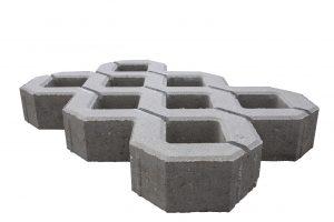 gras tegels blokken
