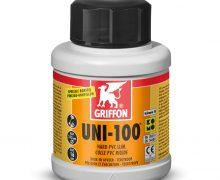 Griffon® hard pvc lijm, Uni-100, bus à 250 ml