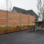 douglas potdekselplanken betonschutting systeem