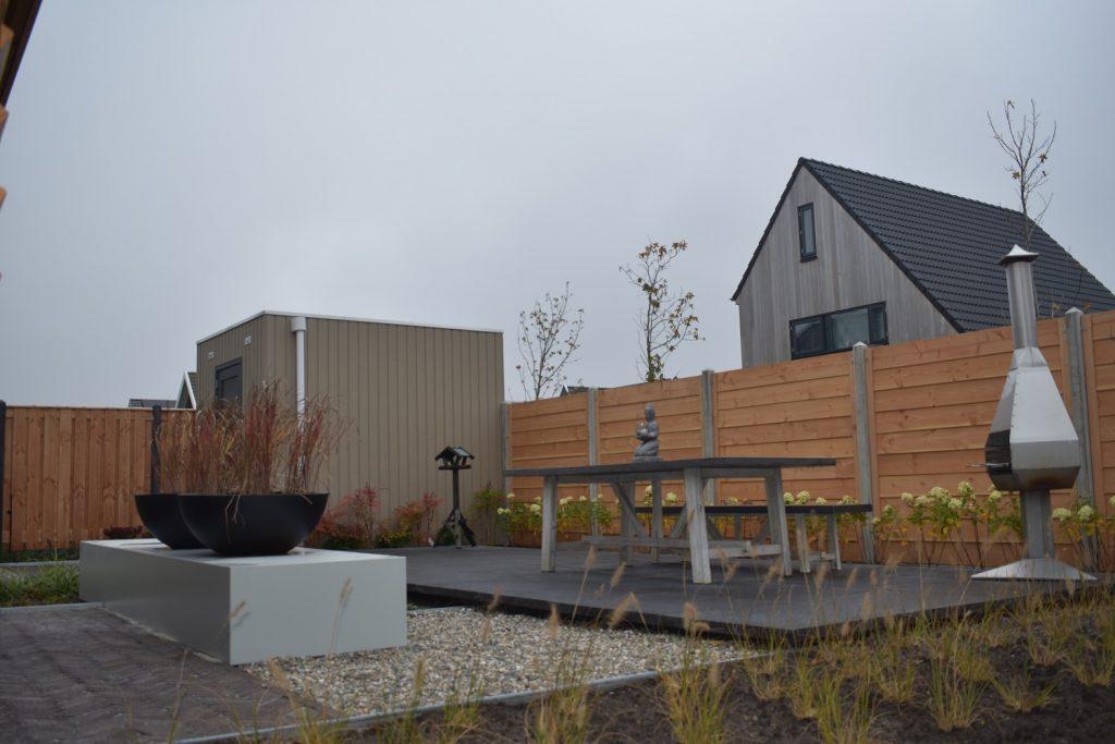 Complete tuin aanleg in Leeuwarden door Totaal Bestrating Drachten