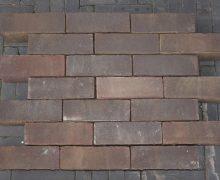 Gebakken dikformaat strak bruin 8,5cm