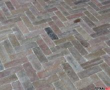 Dikformaat brons genuanceerd, autenthieke beton dikformaat brons genuanceerd