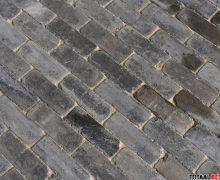 Dikformaat getrommeld grijs antraciet, autenthieke beton dikformaat grijs/antraciet