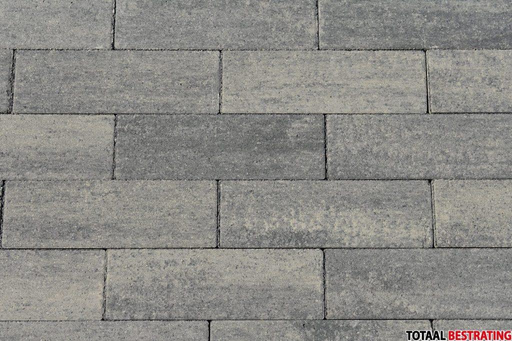 Oprit-steen grijs antraciet 11x33x8cm