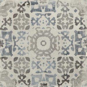 Noviton BetonArt Carpet verwerkt in showtuin, design betontegels