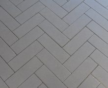 Opritsteen Romano 11x33x8cm Gris