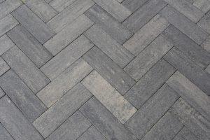 Romano 11x33x8cm Grezzo oprit-steen grijs antraciet