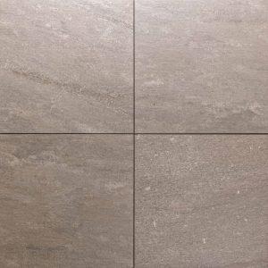 Cerasun Quartz Grey 60x60x4cm keramische tegels met ondervloer
