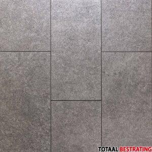 Cerasun Moderno Nero 40x80x4cm keramische tegel met ondervloer antraciet natuursteen look