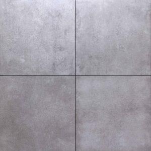 Cerasun Cemento Grigio 60x60x4cm keramische tegels met ondervloer