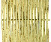 Schutting van kastanjehout 150x150cm