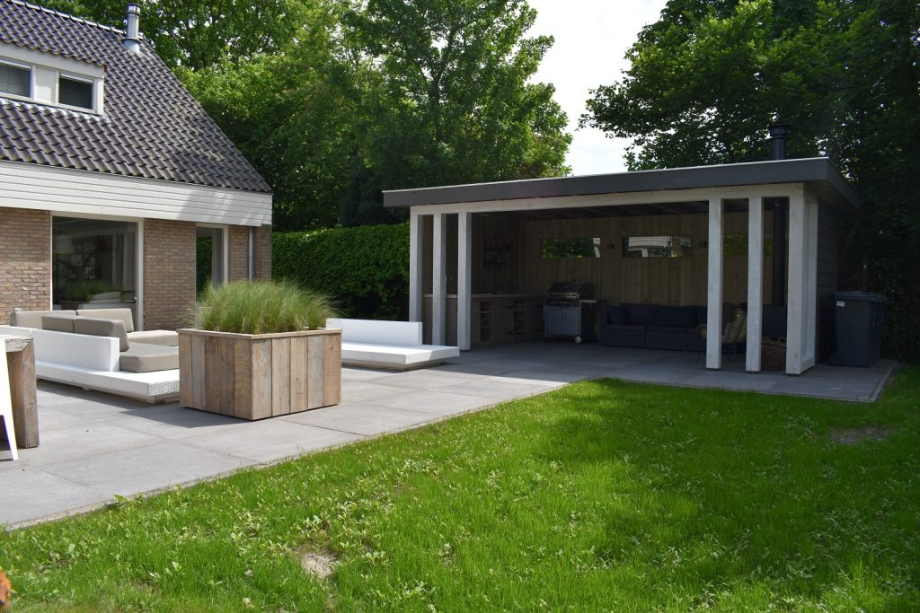 Oud Hollands Schellevis 100x100 met buitenverblijf