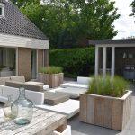 Aangelegde tuin Totaal Bestrating Drachten