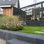U-element antraciet, Rock walling antraciet van Excluton