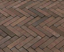 Waalformaat Peraldo bruin genuanceerd vormbak steen
