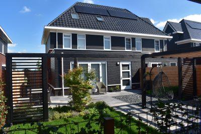 Complete tuinaanleg nieuwbouw woning Leeuwarden
